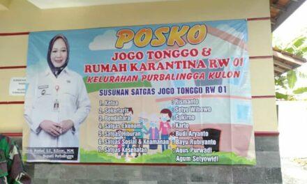 LAUNCHING POS JOGO TONGGO KELURAHAN PURBALINGGA KULON