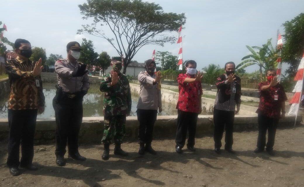 LAUNCHING KAMPUNG TANGGUH NUSANTARA PASCA NEW NORMAL KELURAHAN PURBALINGGA KULON